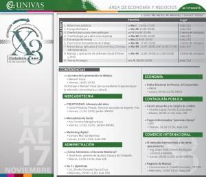Semana Académica y Cultural UNIVAS 2012